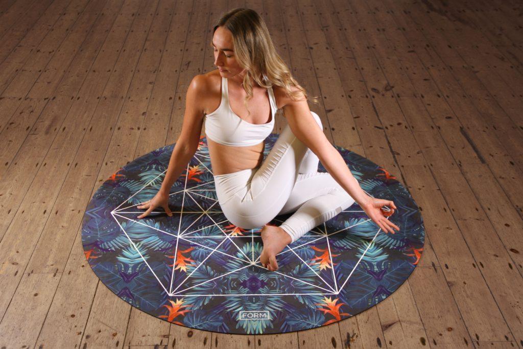 Yoga er en av de mer fysiske morsdagseventideene.