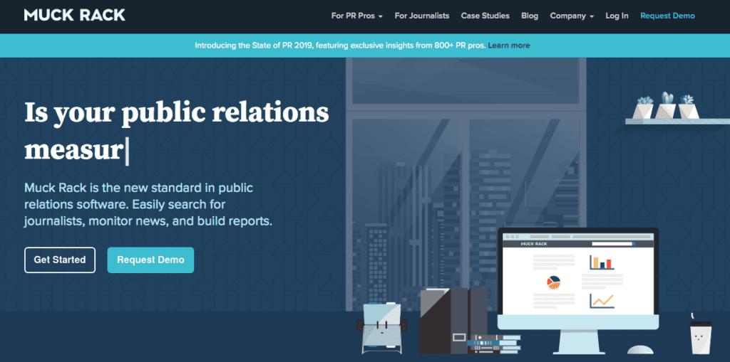 Verktøy for å sikre et event medie partnerskap: Muck Rack