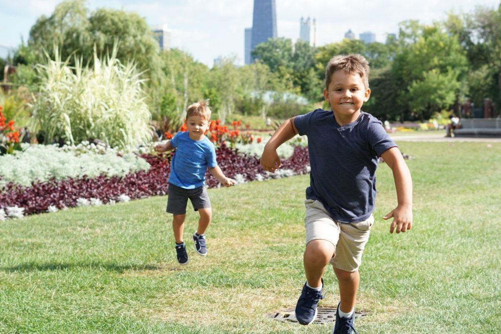 Familievennlig event: Lokalet kan være noe så enkelt som en park.